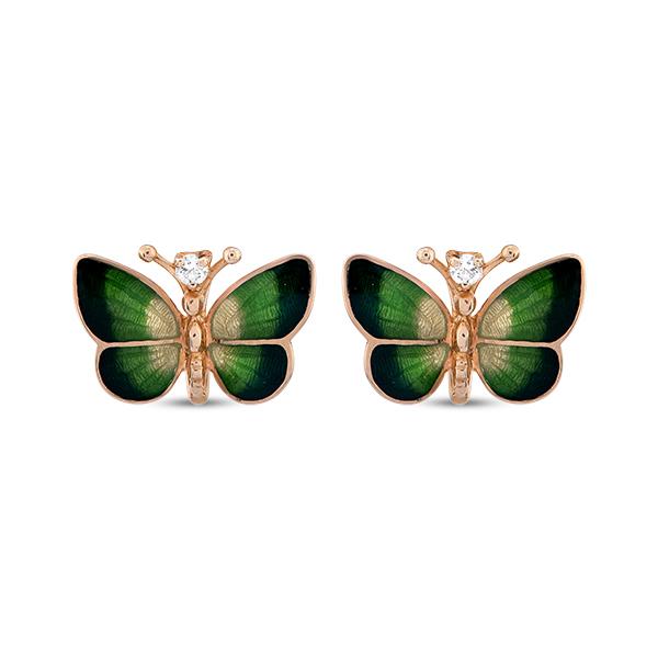 Roberto Bravo butterfly earrings