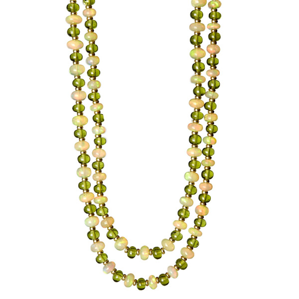 SYNA-Jewels-Peridot Opal-Necklace