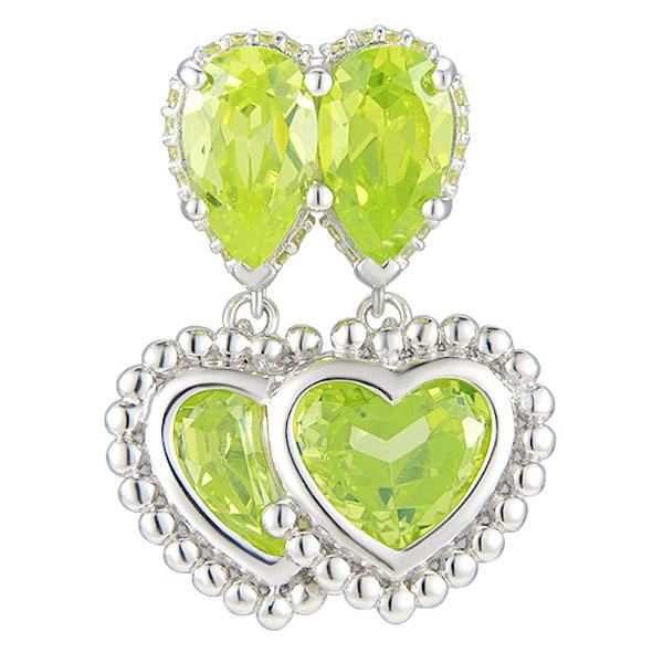 51 E John Good Trip heart earring