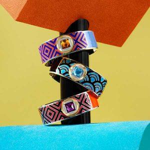 Alice Cicolini mad mod bracelets