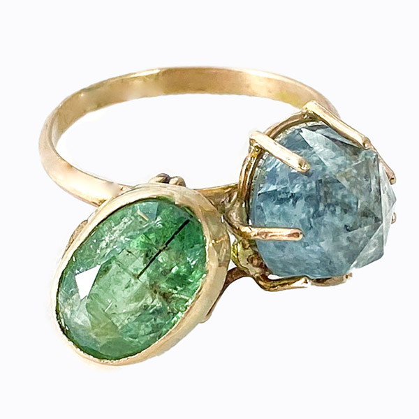Amulet by D Double Blessing ring