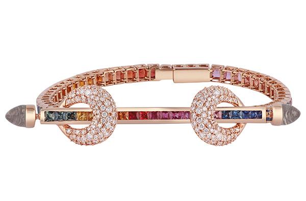 Ananya rainbow chakra bracelet