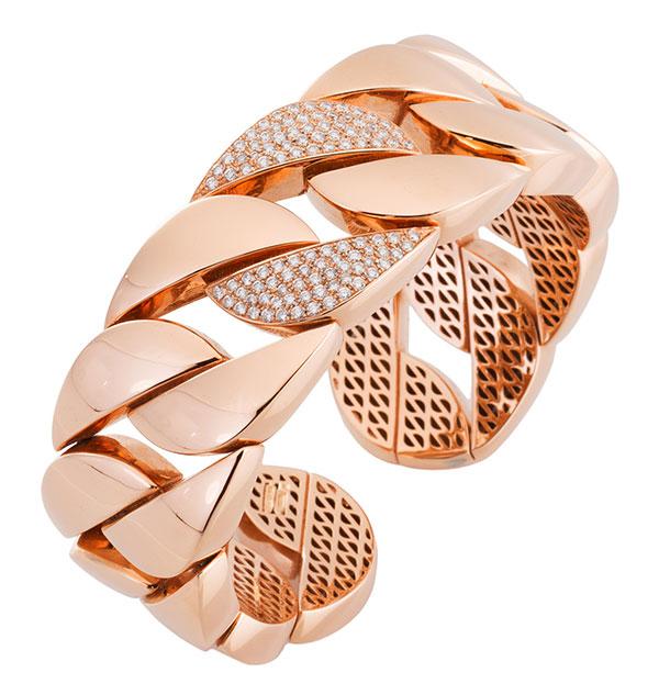 Antonio Papini Gioielli rose gold bracelet