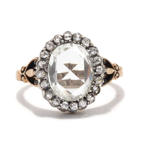 Ashley Zhang Everly engagement ring