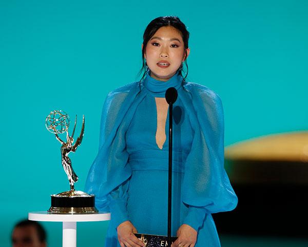 Awkwafina 2021 Emmys