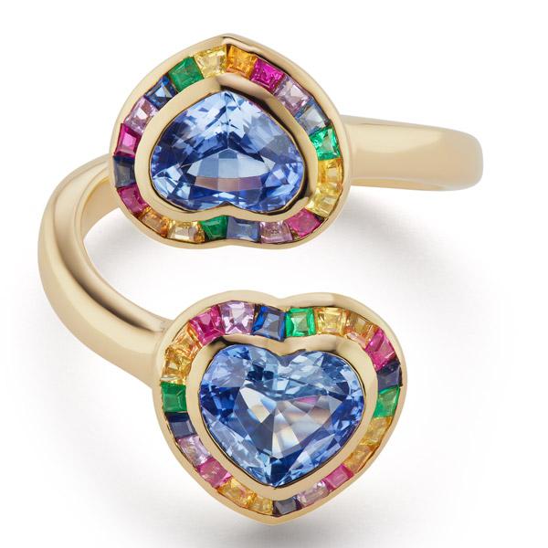 Brent Neale heart ring