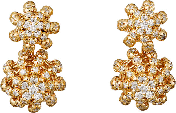 Cactus de cartier earrings
