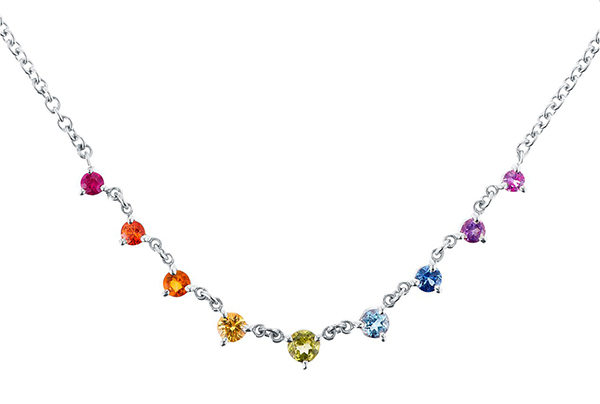 Carbon Hyde Rainbow Mini Starstruck necklace