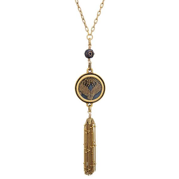 Ceci Leibovitz Theodora tassel necklace