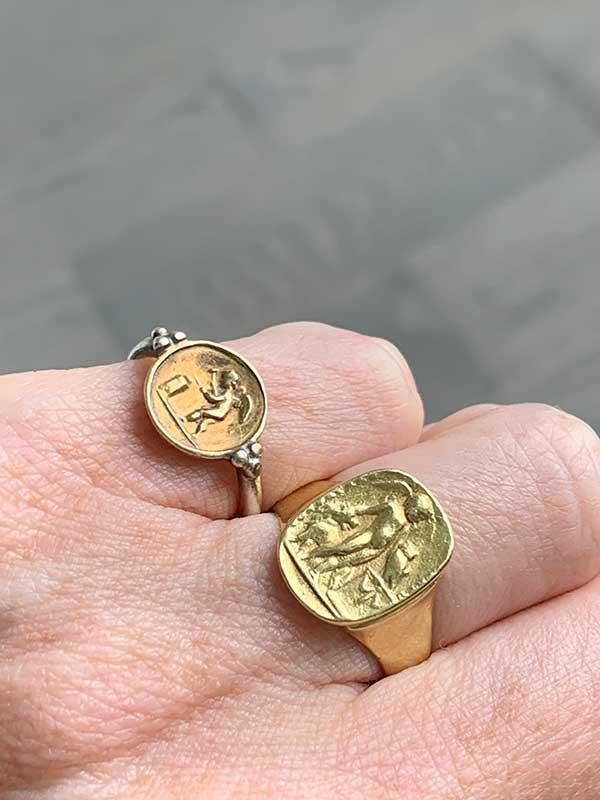 Chelsea Girl rings