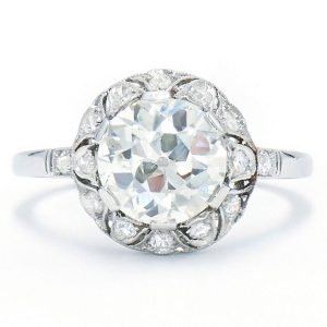 Fred Leighton vintage engagement ring
