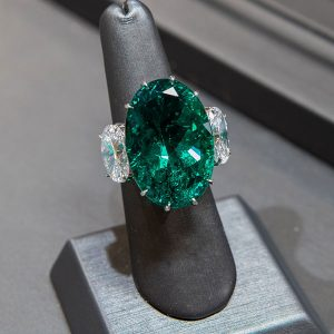 Gems of Note emerald ring PhotographyG