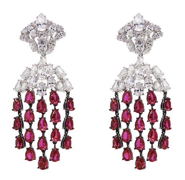 Gismondi 1754 ruby earrings