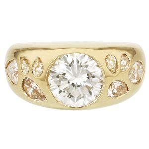 Grace Lee custom signet ring
