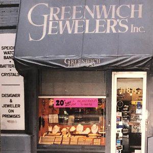 Greenwich Jewelers original store