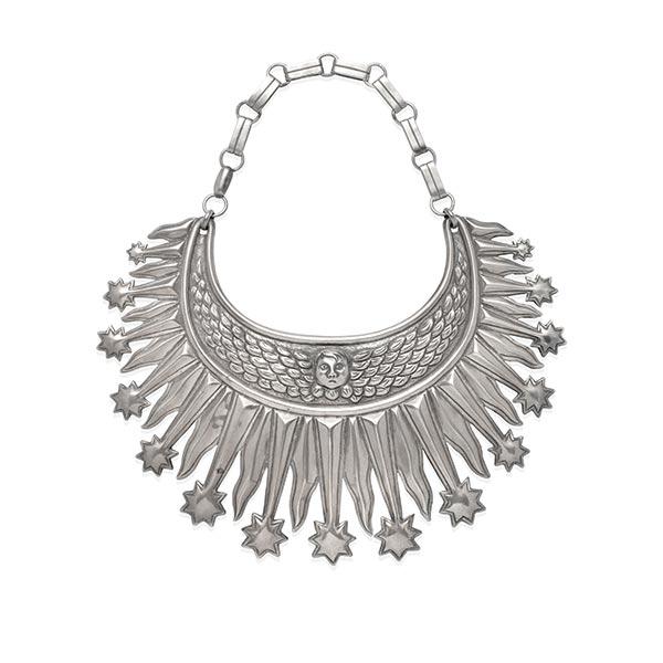 William Spratling silver Helena Rubenstein necklace