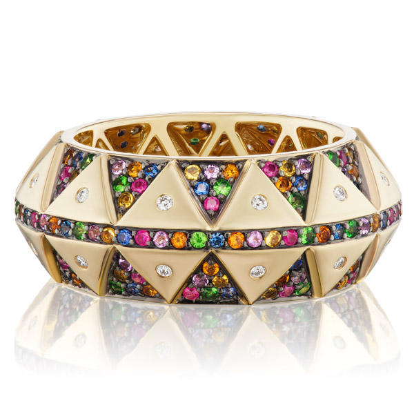 Harwell Godfrey sapphire ring