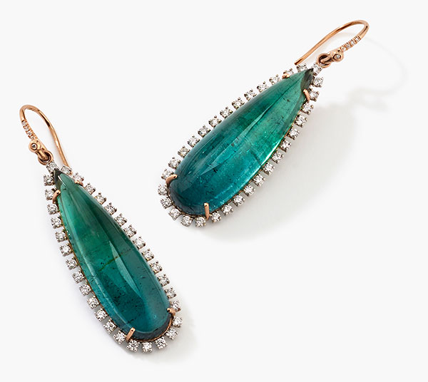 Irene Neuwirth Indicolite Earrings