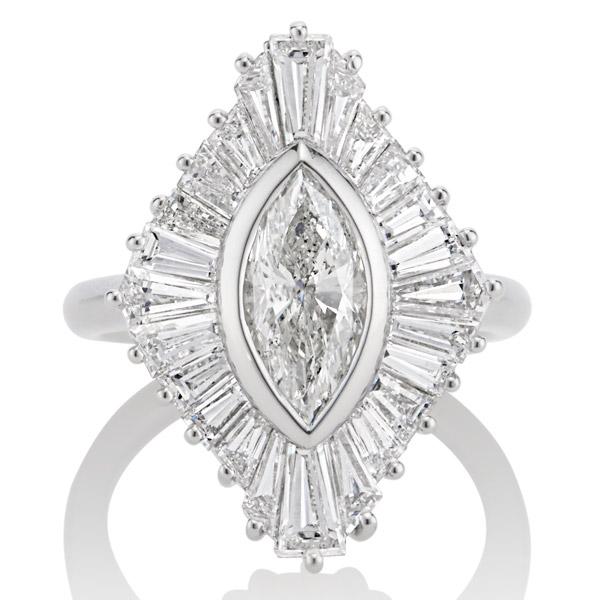 Kendra Pariseault engagement ring