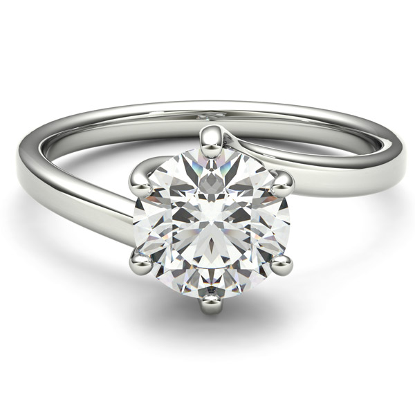 Lark and Barry Lime engagement ring