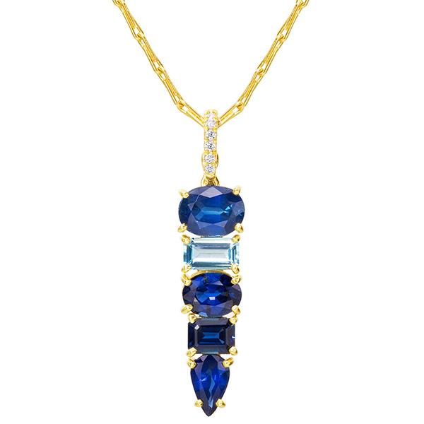 Lauren K sapphire necklace