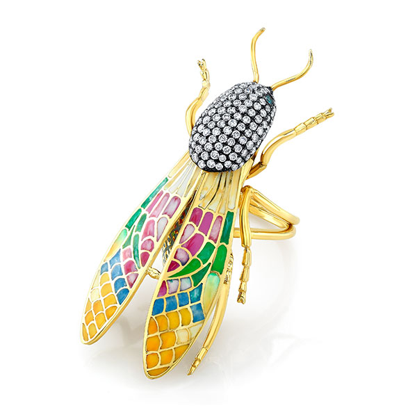 Lord Jewelry moth ring