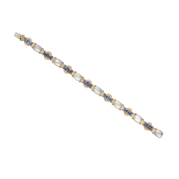 Louis Comfort Tiffany moonstone bracelet