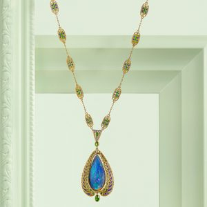 Louis Comfort Tiffany opal necklace