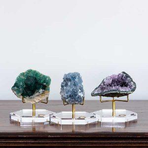 LuxeRox crystal specimens