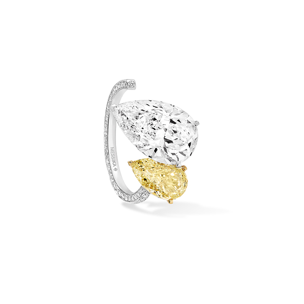 Messika Paris yellow diamond earring cuff