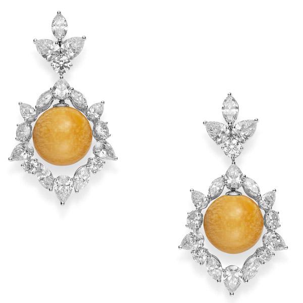 Mikimoto melo pearl earrings
