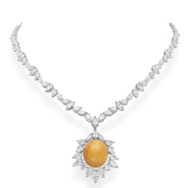 Mikimoto melo pearl necklace