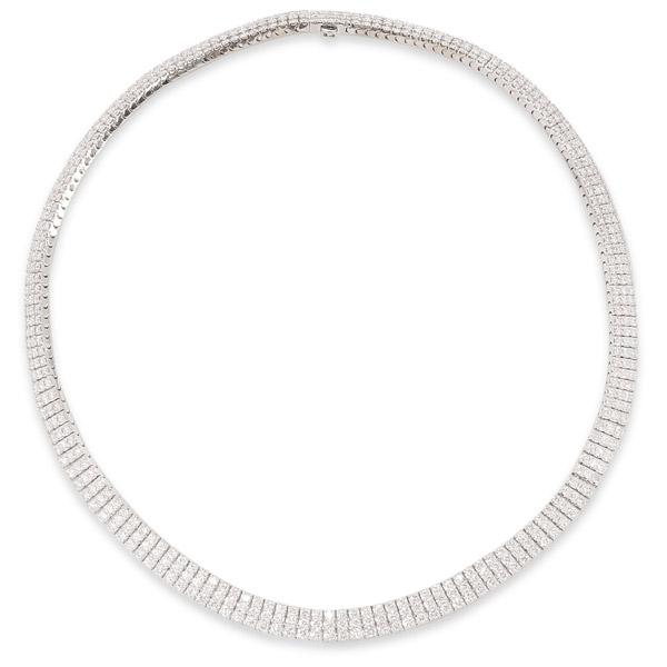 Nicole Rose diamond necklace