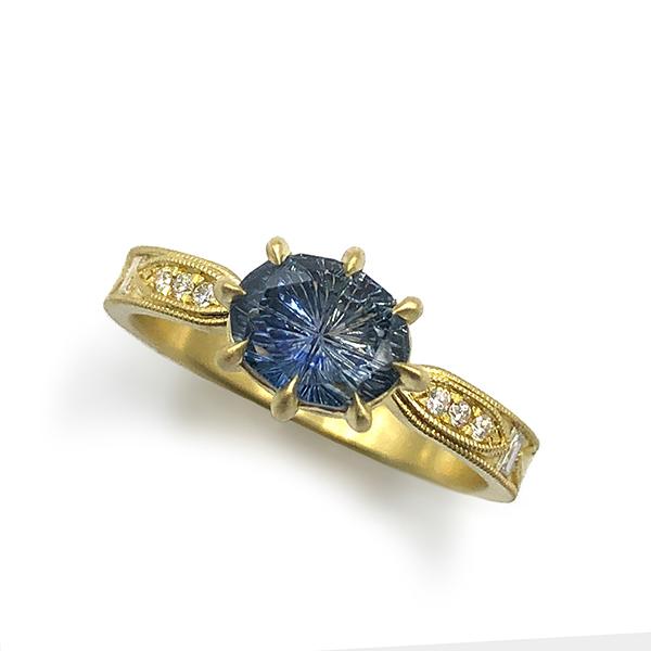 Original Eve Berkshire engagement ring oval center