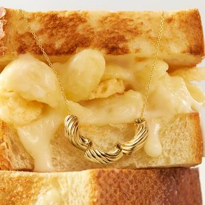 Delicacies Jewelry created the Mac necklace for Panera Bread.