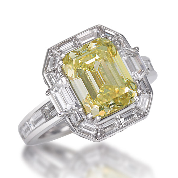 Picchiotti yellow diamond ring