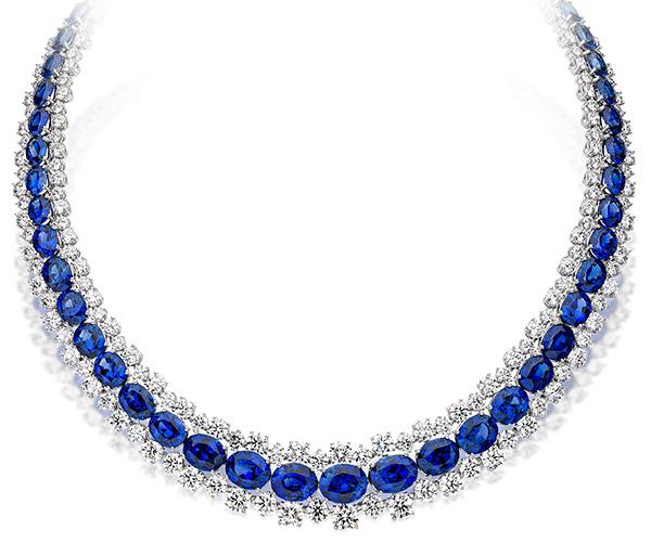 Picchiotti sapphire necklace