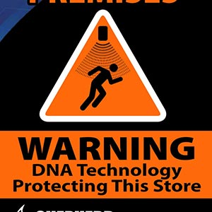 Stores using SelectaDNA can provide a warning to the public