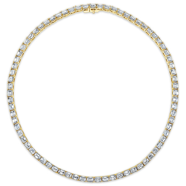 Rahaminov diamond necklace