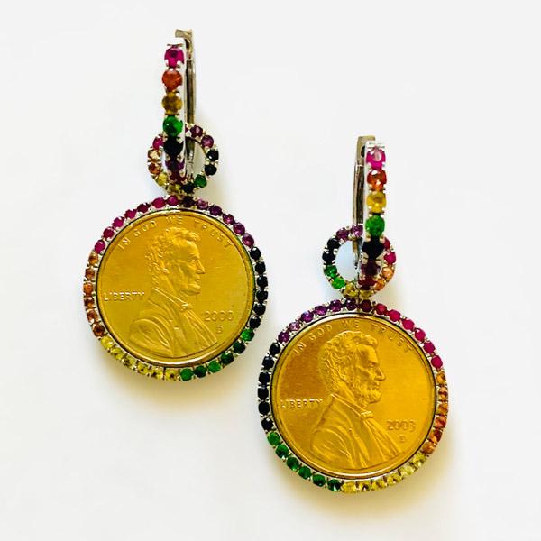 Tashka by Beatrice earrings