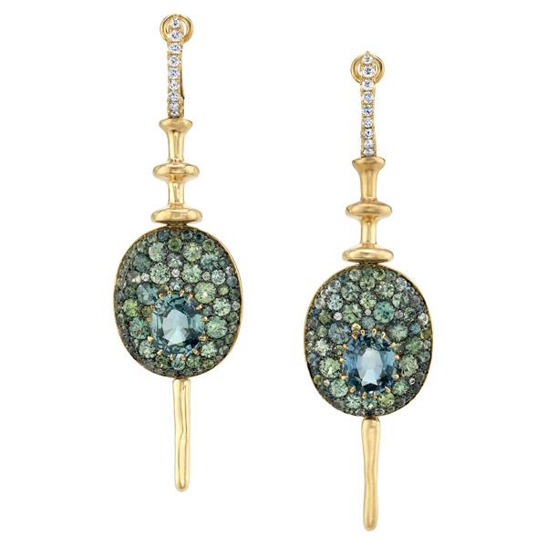 VRAM Chrona Disco earrings