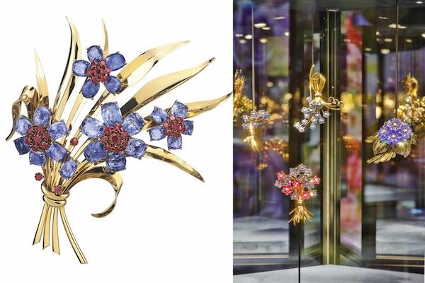Van Cleef Arpels bouquet brooches