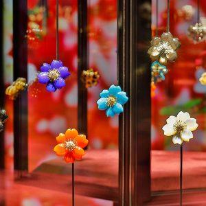 Van Cleef Arpels floral clips
