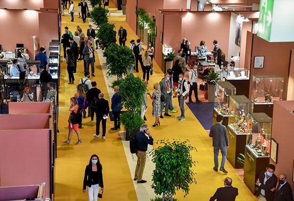 Vicenza Sept 2021 show floor