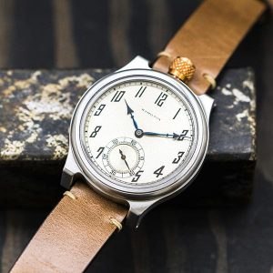 Vortic put one of its Hamilton upcycled wrist watches on its website for sale for the first time since the lawsuit was filed. The Lancaster 103 sold out on the first day it was available at a cost of $2,495.