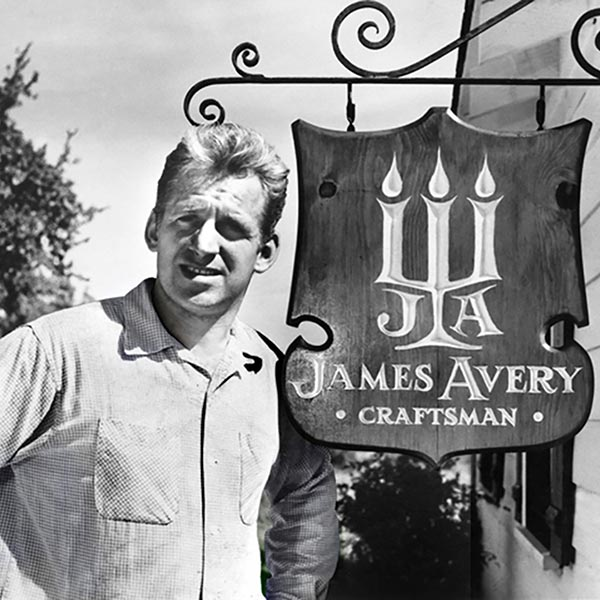 James Avery was a self taught jeweler