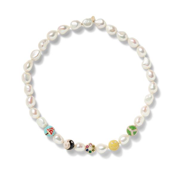Alison Lou pearl necklace