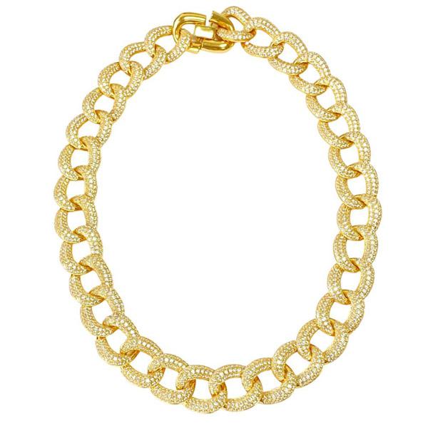 Anna Zuckerman chain necklace