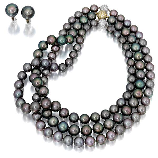 Assael Tahitian pearls