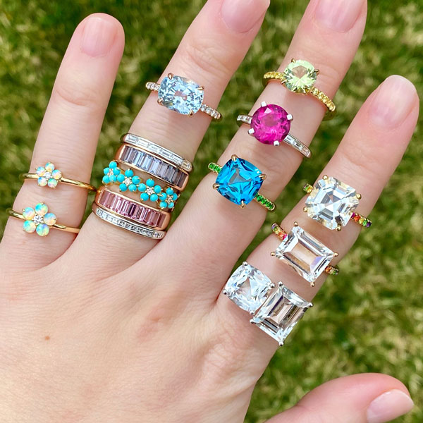 Jane Taylor Jewelry rings